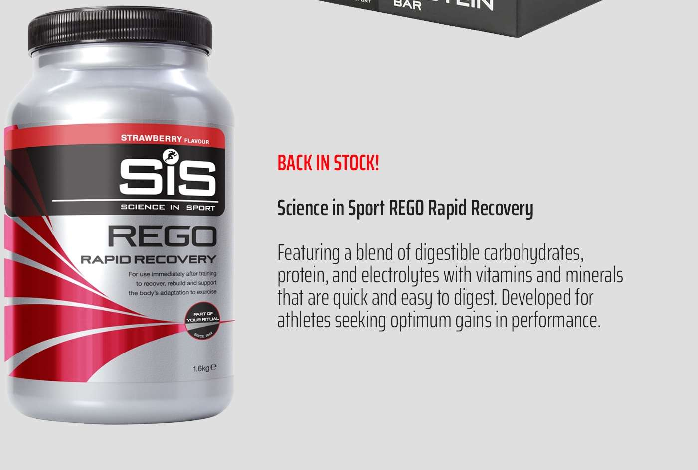 Science in Sport REGO Rapid Recovery