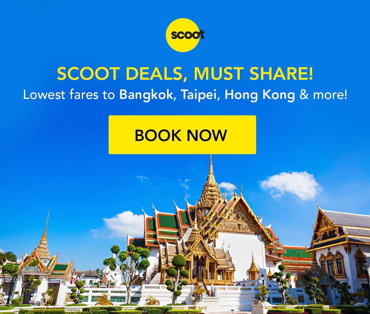 MASSIVE Scoot Sale with insanely low fares to your favourite destinations