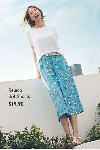 Shop Women's Summer specials. Relaco Shorts.