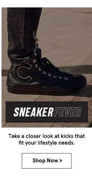 Sneakers. Shop Now.