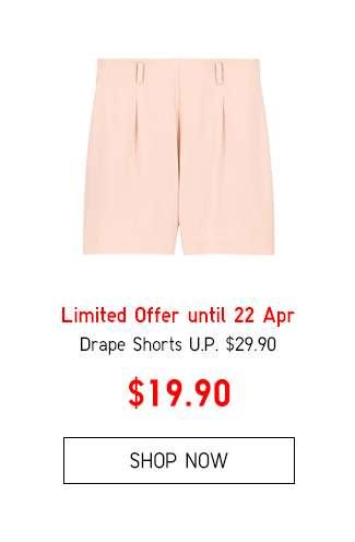 Shop Women's Drape Shorts