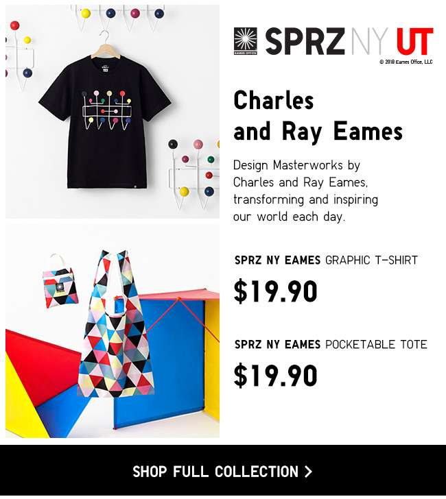Shop New SPRZ NY Eames Collection.
