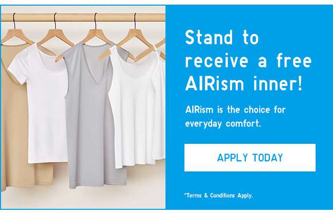 Apply for your free AIRism sample today!