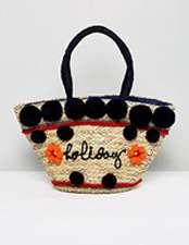 Skinnydip Straw Bag