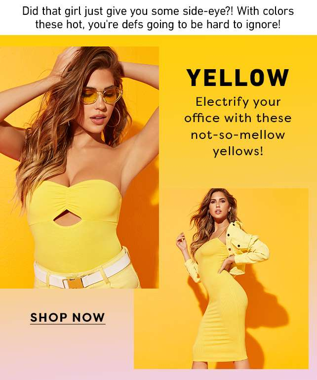 Yellow - Electrify your office with these not-so mellow yellows!  -Shop Now