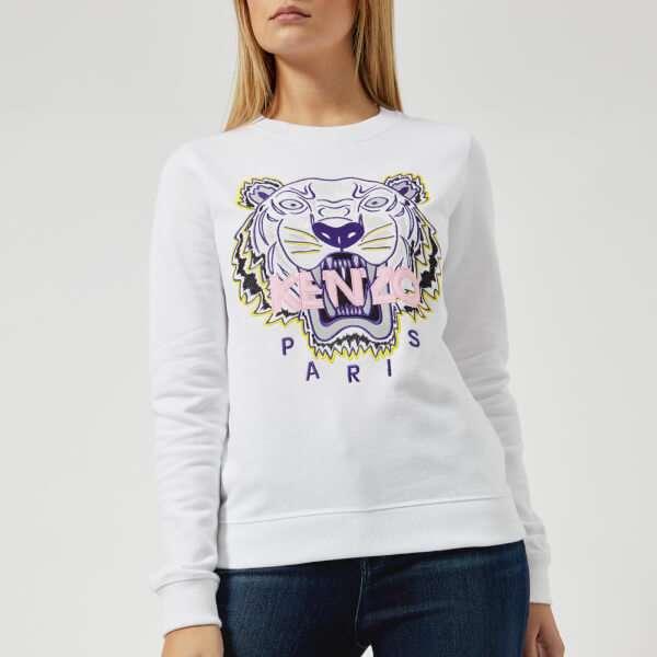 KENZO Women's Tiger Sweatshirt - White