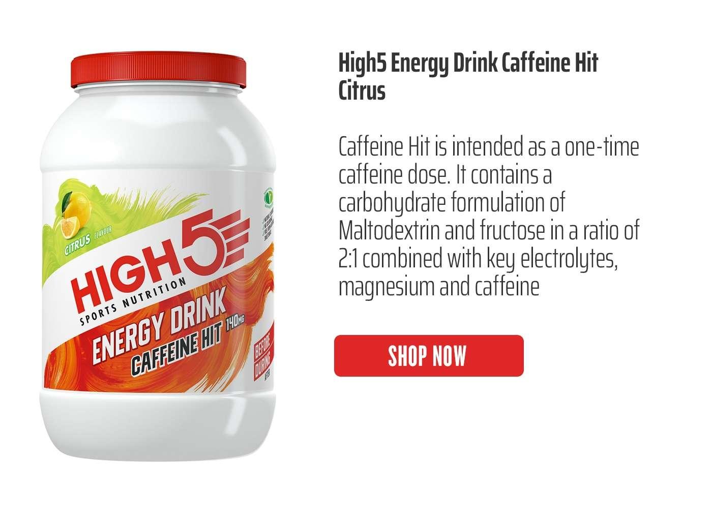 High5 Energy Drink Caffeine Hit Citrus