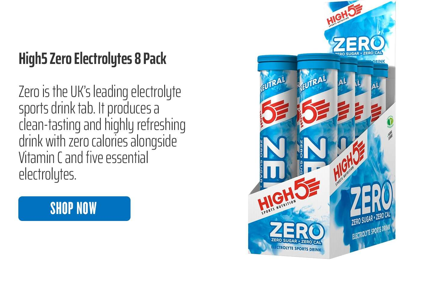 High5 Zero Electrolytes 8 Pack