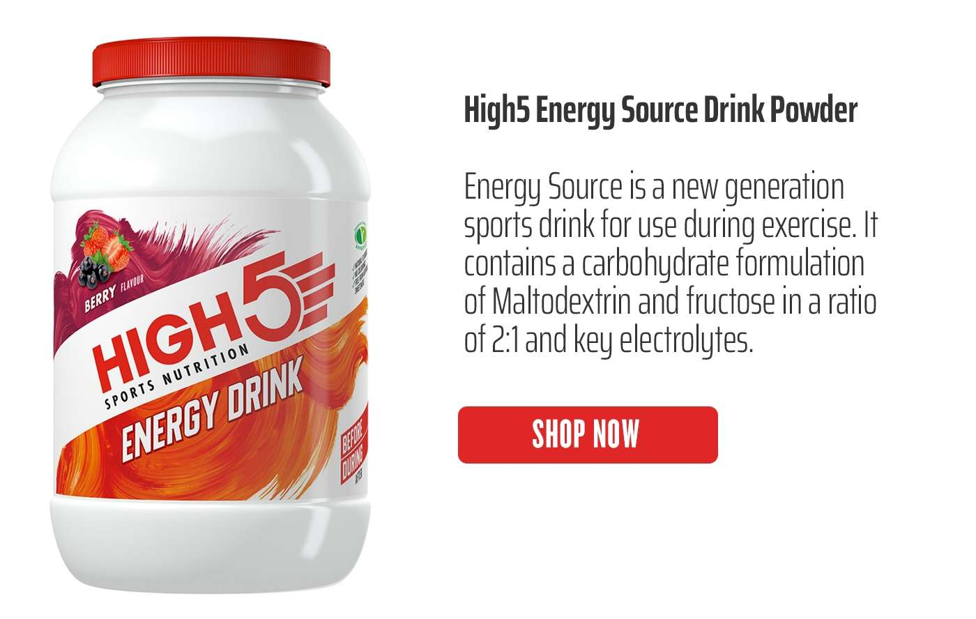 High5 Energy Source Drink Powder