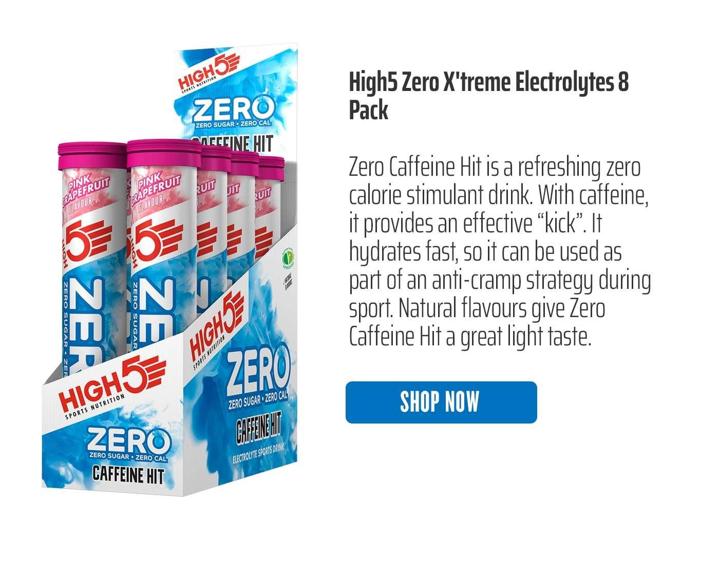 High5 Zero X'treme Electrolytes 8 Pack