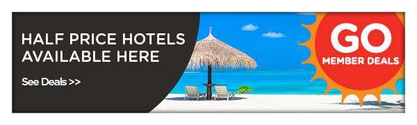 enjoy savings up to 50% on hotels!