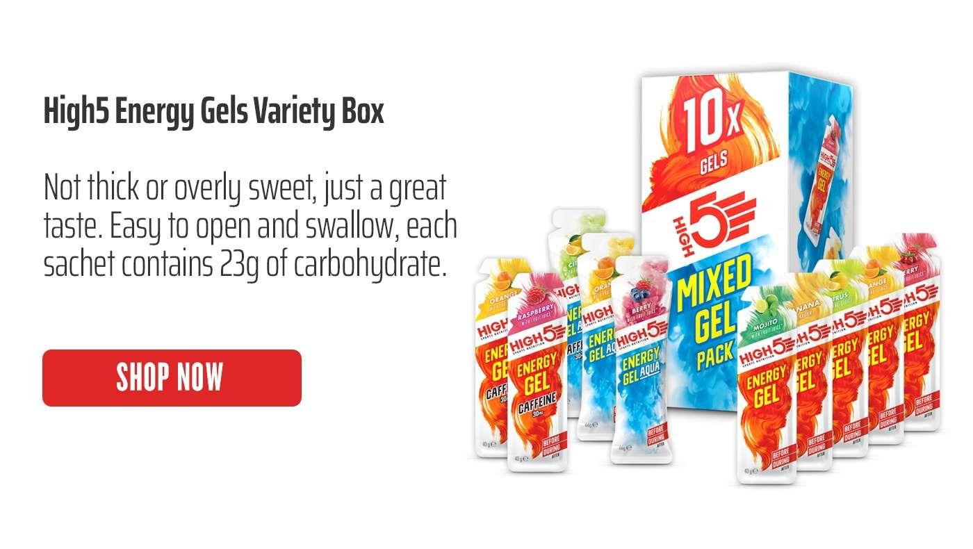 High5 Energy Gels Variety Box