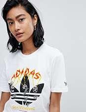 adidas skateboarding T-shirt