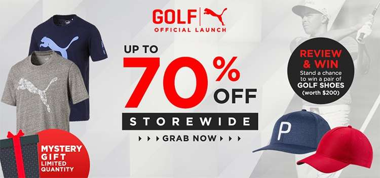 9fbeb826 [Qoo10] Cobra and Puma Golf Official Launch! Up to 70% Storewide discount +  Free mystery gift with purchase!