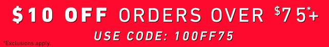$10 OFF Orders over $75 | use code: 10OFF75