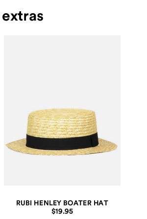 Henley Boater Hat | Shop Now