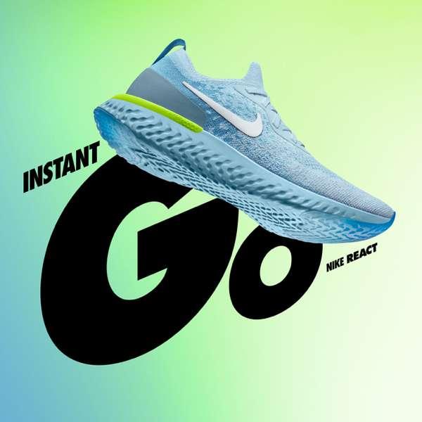 INSTANT | GO | NIKE REACT