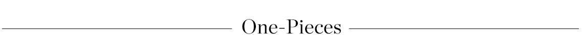SHOP ONE-PIECES