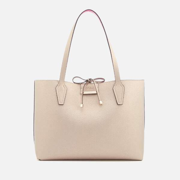 Guess Women's Bobbi Inside Out Tote Bag - Pale Bronze/Fuchsia
