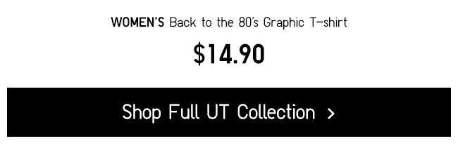 Shop Back to 80's UT Collection