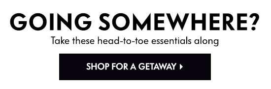 Shop for a Getaway