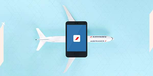 Discover the Air France app
