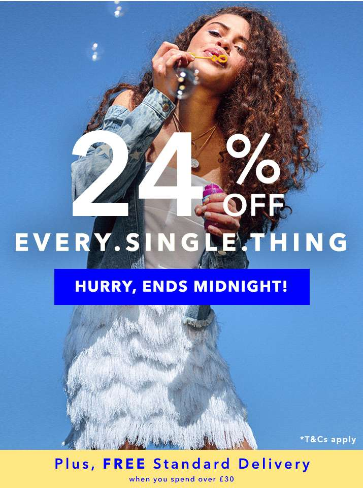 24% Off Every.Single.Thing - Shop Now