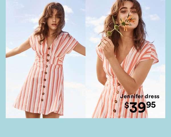 Dresses + Jumpsuits   Shop Now