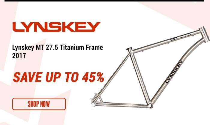 Lynskey MT 27.5 Titanium Frame 2017