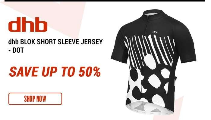 dhb Blok Short Sleeve Jersey - Dot