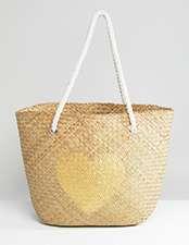 South Beach straw bag
