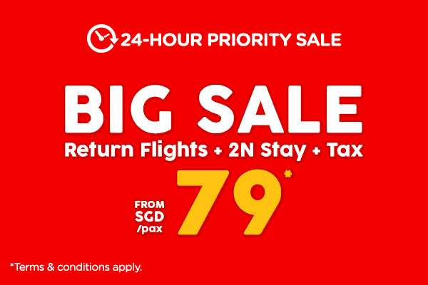 AirAsiaGo's 7-Day Sale! | 24-Hour Priority Sale