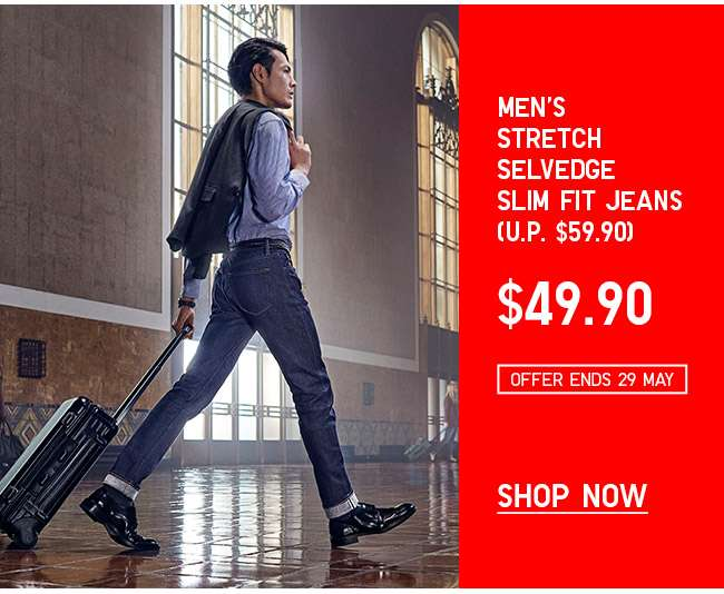 Shop Men's Selvedge Slim Fit Jeans