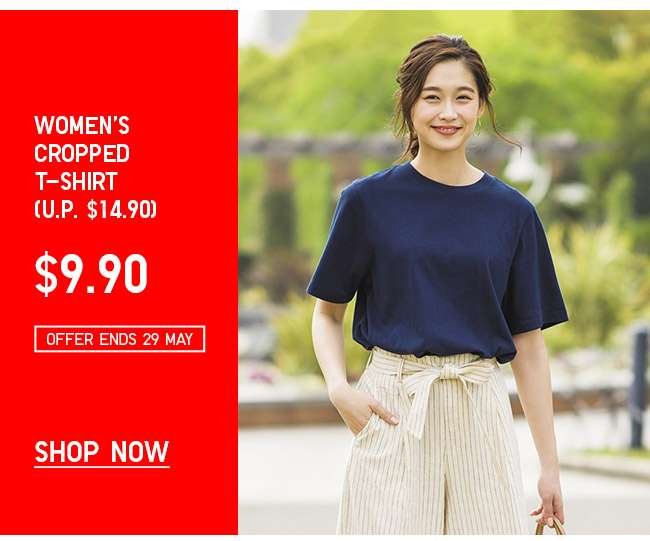 Shop Women's Cropped T-shirt