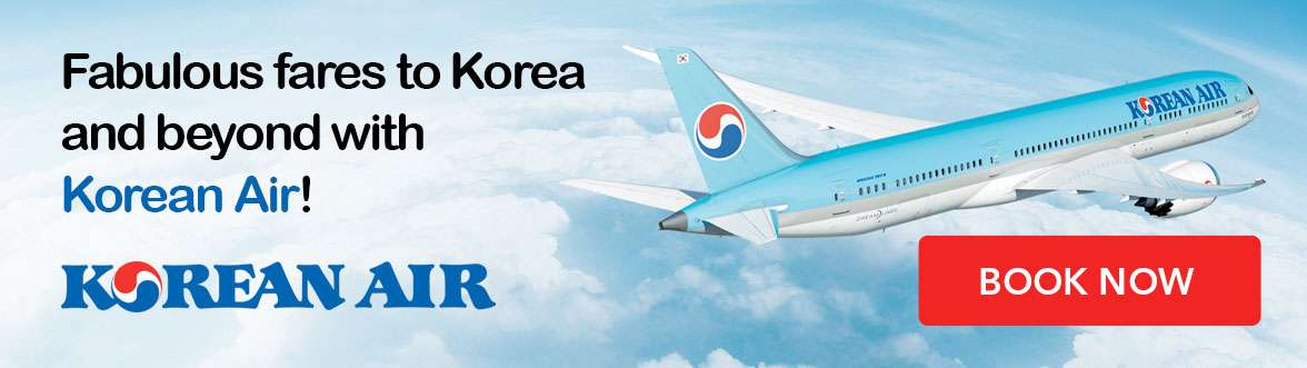 Broaden your horizon with fabulous fares from Korean Air!