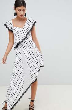 Boohoo Asymmetric Dress