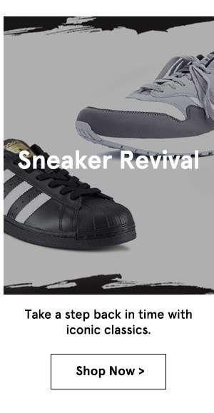 Sneaker Revival. Shop Now.