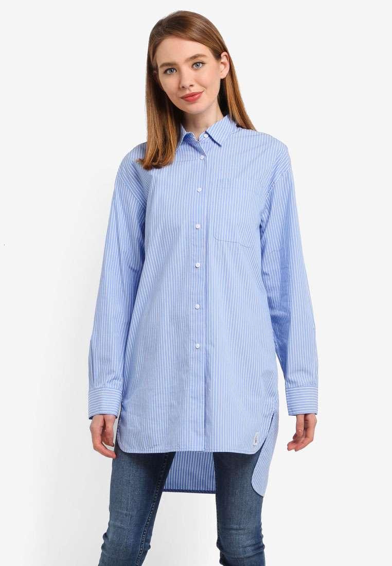 Oversized Tunic Shirt - Calvin Klein Jeans