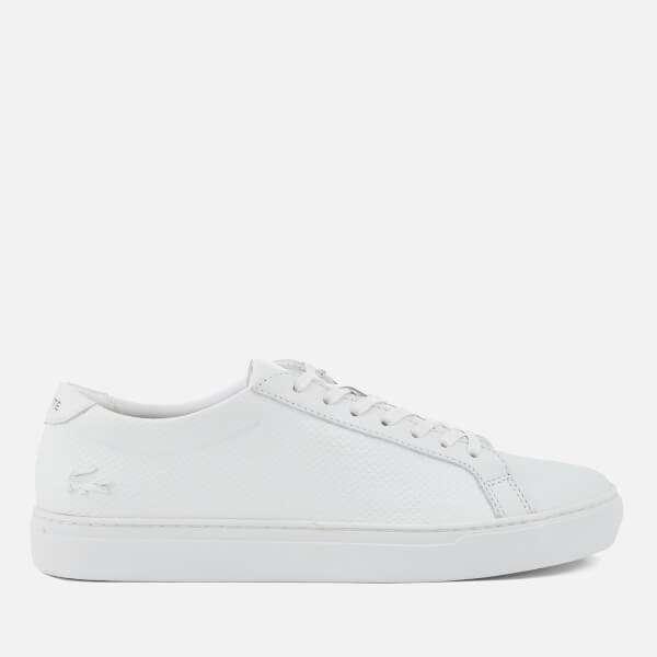Lacoste Men's L.12.12 115 Leather Cupsole Trainers - White