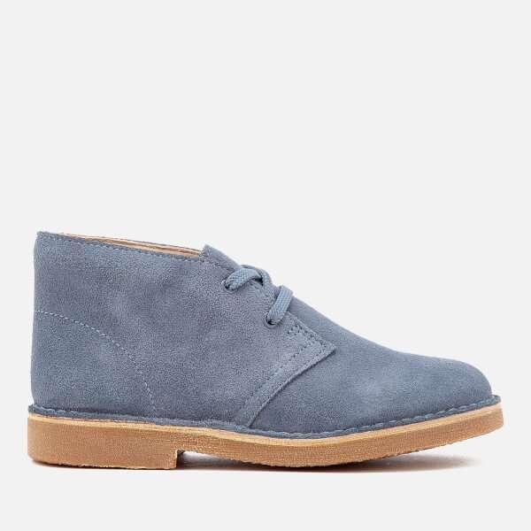 Clarks Originals Kids' Desert Boots - Denim Blue Suede