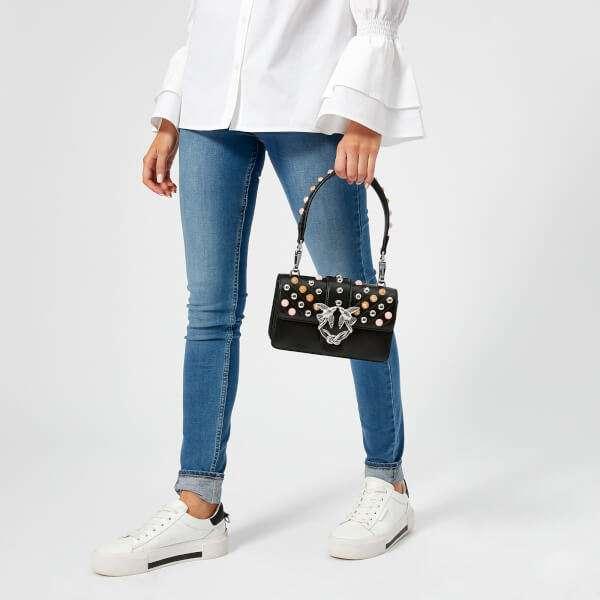 Pinko Women's Mini Love Stones Shoulder Bag - Black: Image 21