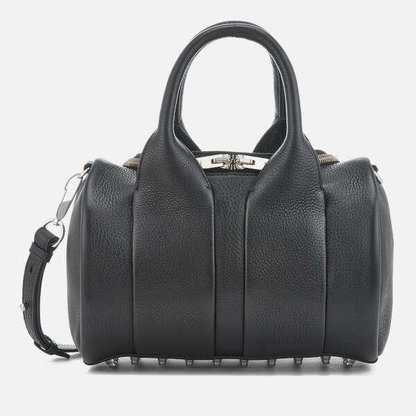 Alexander Wang Women's Rockie Studded Pebble Leather Bag - Black