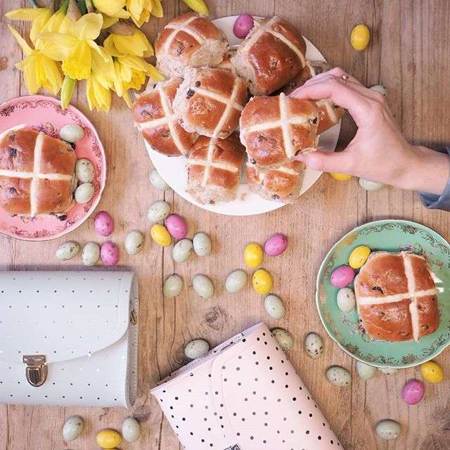 We're opting for speckled eggs and hot cross buns this Easter Sunday. What's your treat of choice? ðŸ£
