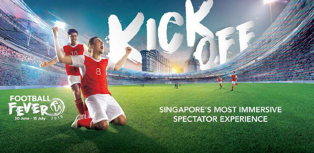 Football Fever in Resorts World Sentosa Singapore