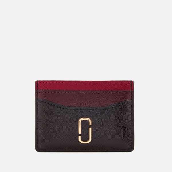 Marc Jacobs Women's Card Case - Black/Chianti