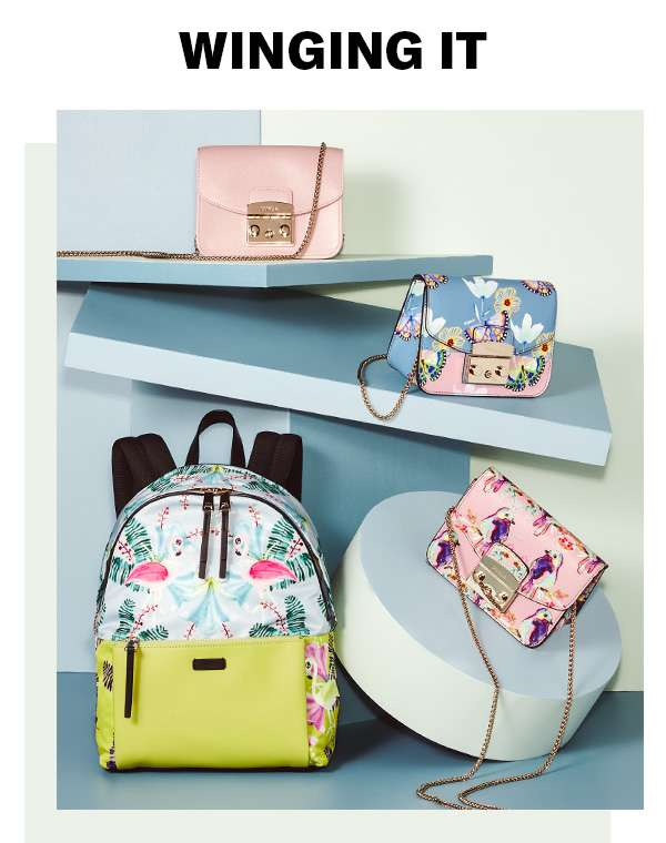 On the hunt for a summer bag? A little birdie told us you might like these sweet carryalls (featuring Furla).