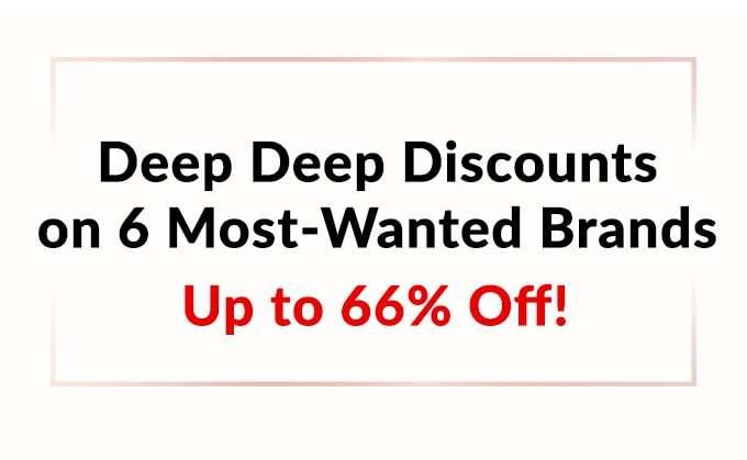 Deep Deep Brand Discounts Up to 66% Off! Elizabeth Arden, Clarins, Estee Lauder, NARS, Shiseido, YSL & more!