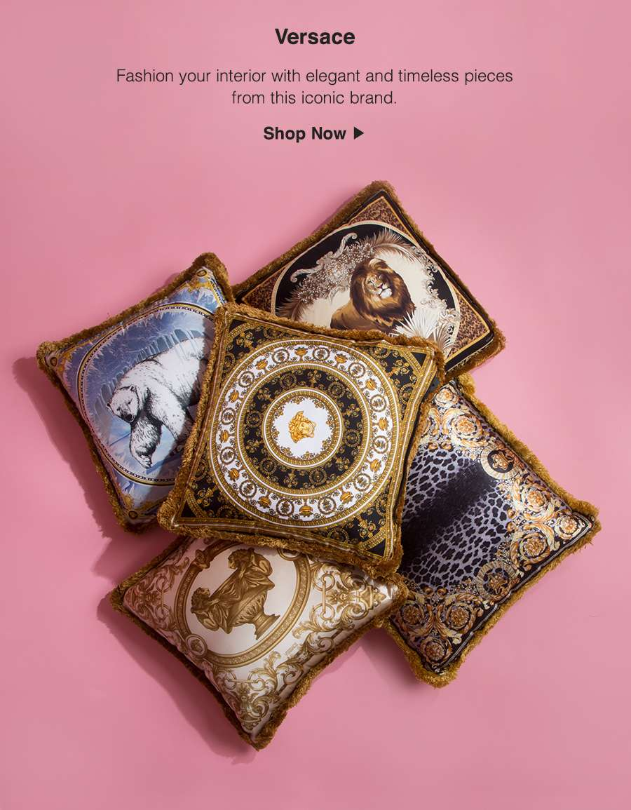 Discover the iconic world of Versace Home