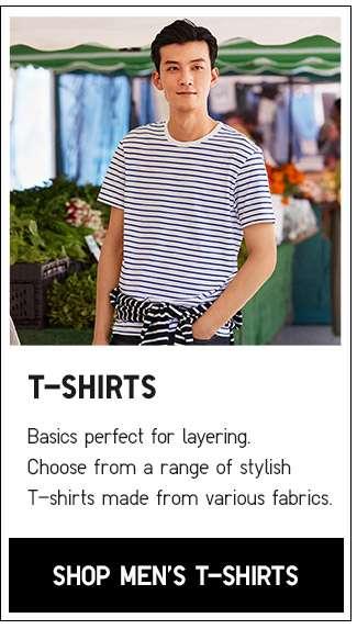 Shop Men's T-shirts Collection