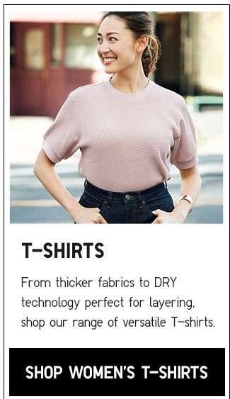 Shop Women's T-shirts Collection